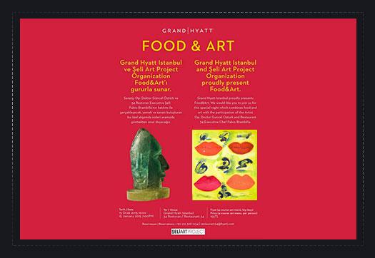 2. FOOD & ART