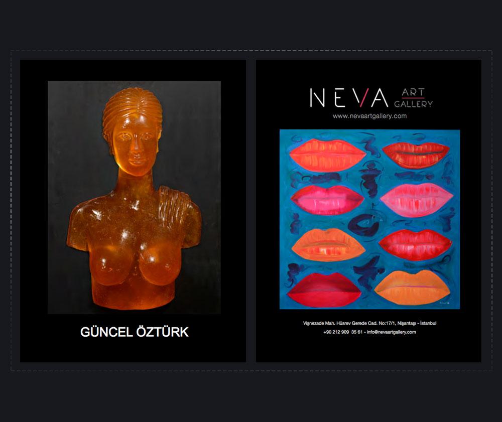 1. Estetik Cerrahi ile Sanatın Buluşması Sergisi